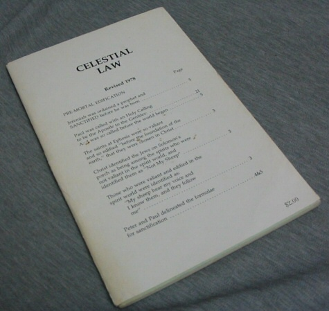 Image for Celestial Law - Revised 1978