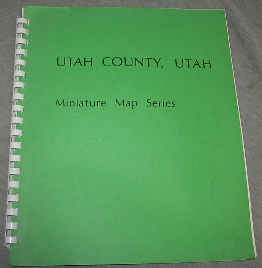 Image for UTAH County, Utah - Miniature Map Series