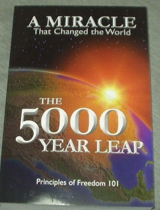 Image for THE 5000 YEAR LEAP - FIVE THOUSAND - The 28 Great Ideas That Changed the World