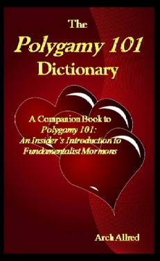 Image for The Polygamy 101 Dictionary - A Companion Book to Polygamy 101 - an Insider's Introduction to Fundamentalist Mormons