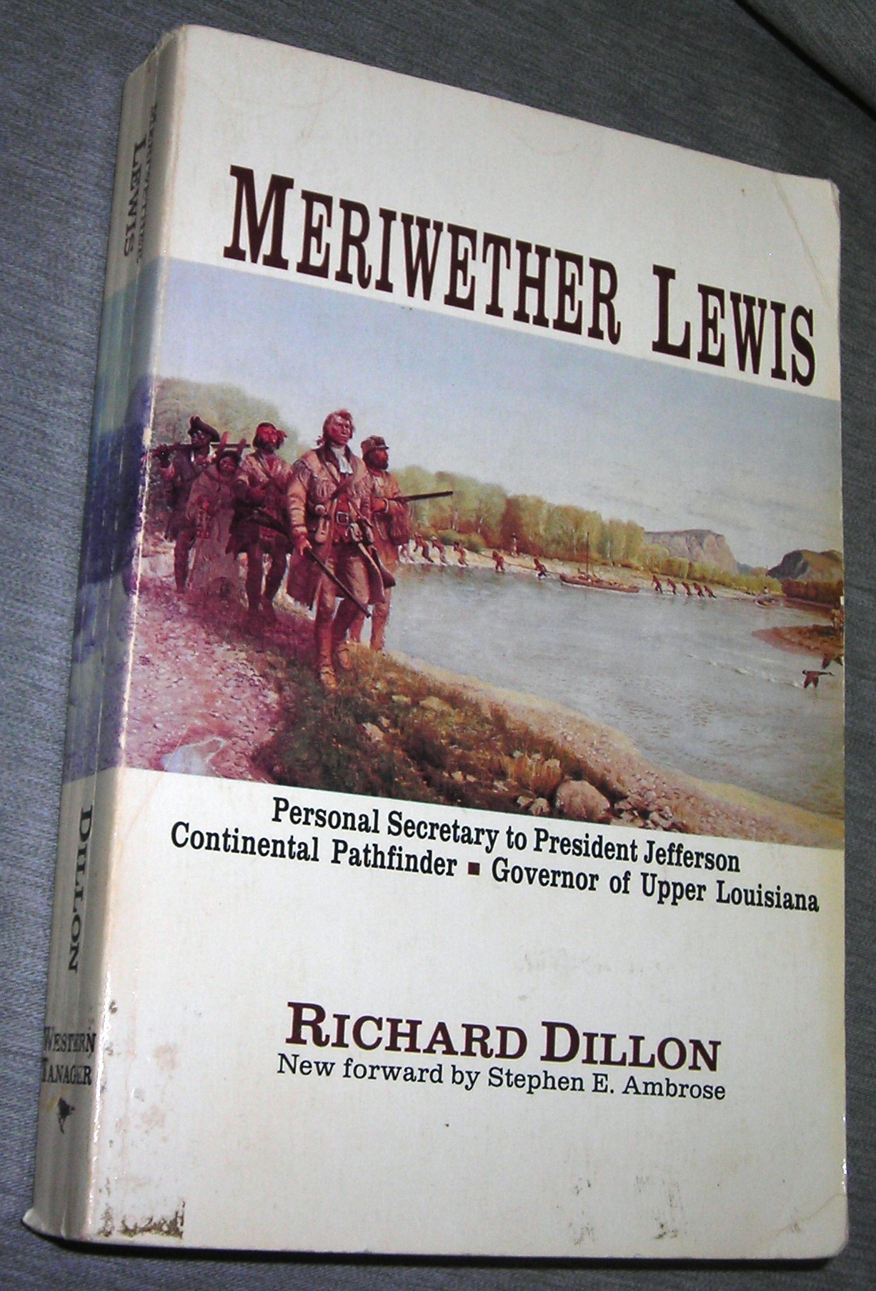 Image for Meriwether Lewis - A Biography