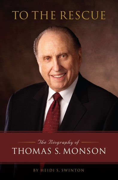 Image for To the Rescue - the Biography of Thomas S. Monson Audio CD