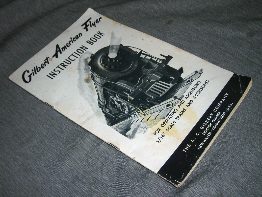 "Image for Gilbert Amercian Flyer - Instruction Book for Operating and Assembling 3/16"" Scale Trains and Accessories"