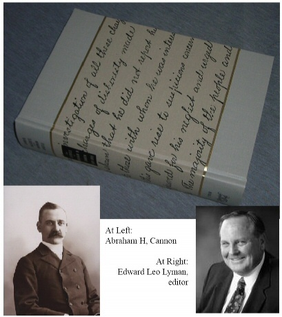 Image for Candid Insights of a Mormon Apostle - the Diaries of Abraham H. Cannon, 1889-1895