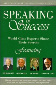 Image for Speaking of Success