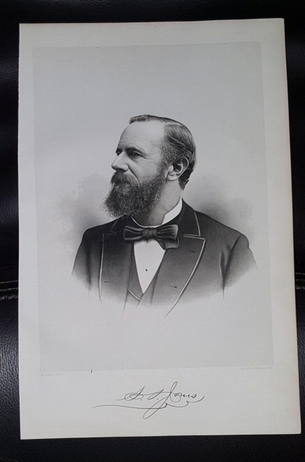 Image for Steel Engraving - S. S. Jones -  Original MORMON / Utah Pioneer Steel Engraving