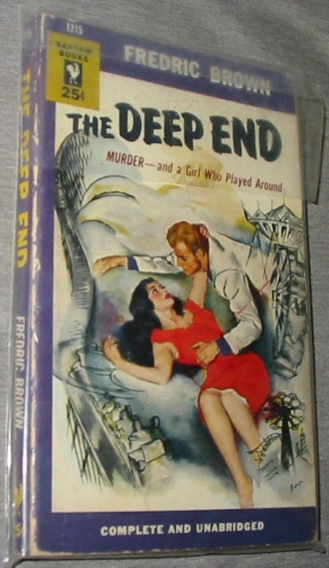Image for The Deep End -  Murder - and a girl who played around