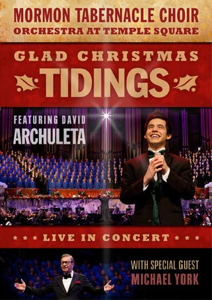 Image for Glad Christmas Tidings Featuring David Archuleta and Michael York