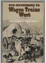 Image for EYE WITNESSES TO WAGON TRAINS WEST