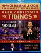 Image for Glad Christmas Tidings Featuring David Archuleta - Blu-Ray Disc