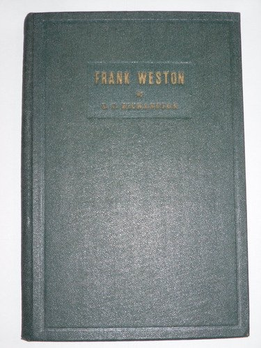"Image for Frank Weston -  The real West of the past, ""quite a much"" of it based on fact"
