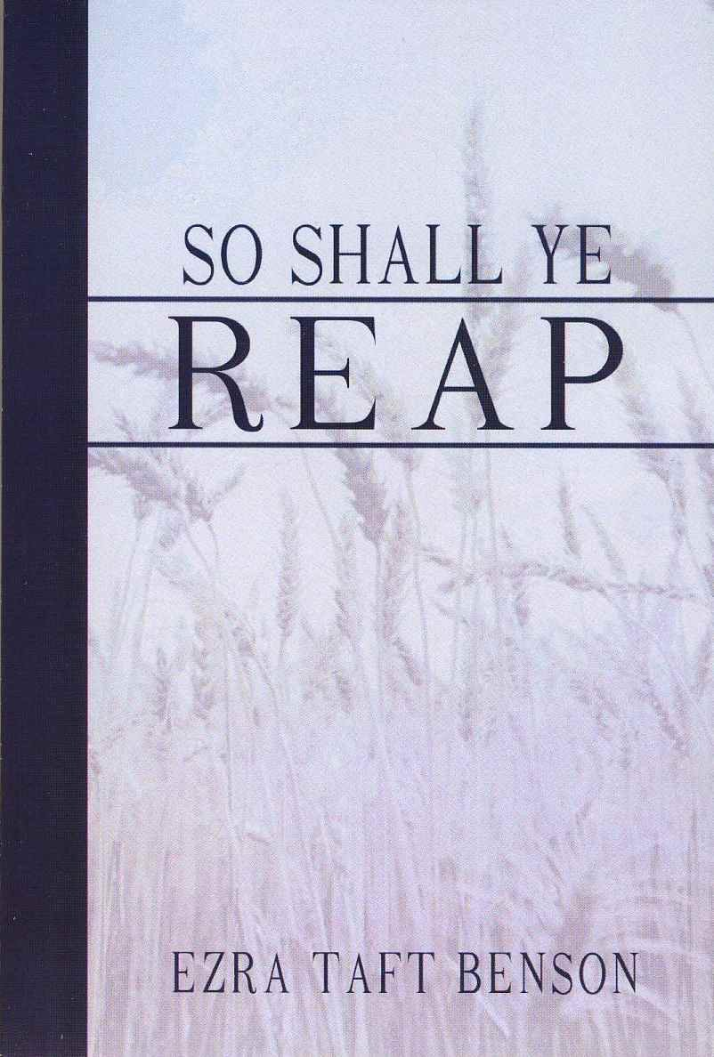 Image for So Shall Ye Reap