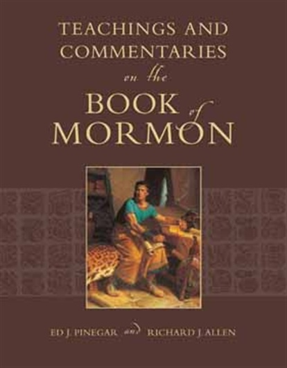 Image for Teachings and Commenataries on the Book of Mormon