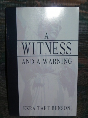Image for A WITNESS AND A WARNING