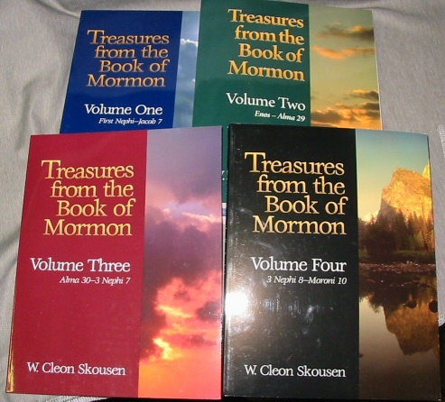 Image for Treasures from the Book of Mormon - Volume 1 to 4 -