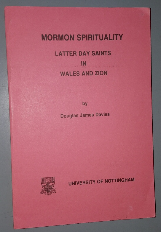 Image for Mormon Spirituality: Latter Day Saints in Wales and Zion
