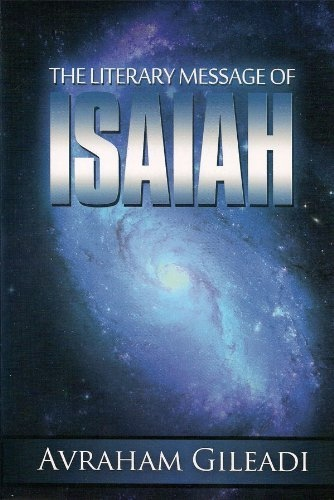 Image for Literary Message of Isaiah