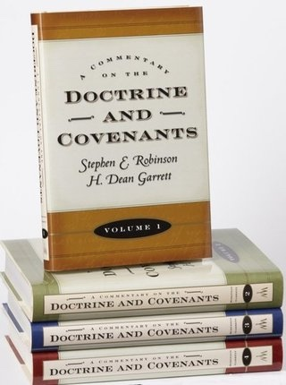 Image for A COMMENTARY ON THE DOCTRINE AND COVENANTS - Set - VOL 1 to 4