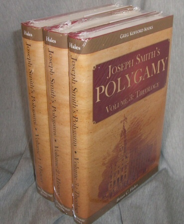 Image for Joseph Smith's Polygamy, Volumes 1,2,3 - Complete Set