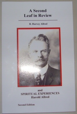 Image for A Second Leaf in Review & Spiritual Experiences of Harold Allred