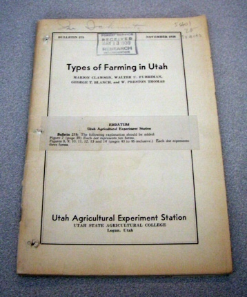 Image for Types of Farming in Utah