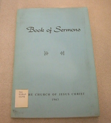Image for BOOK OF SERMONS