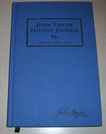 Image for John Taylor Nauvoo Journal