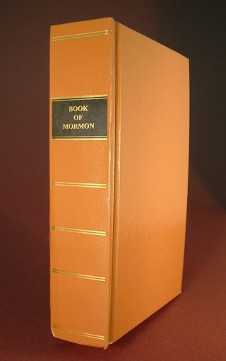 Image for REPLICA OF 1830 1ST EDITION BOOK OF MORMON - Brand NEW!
