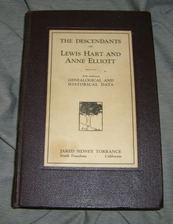 Image for Descendants of Lewis Hart and Anne Elliot