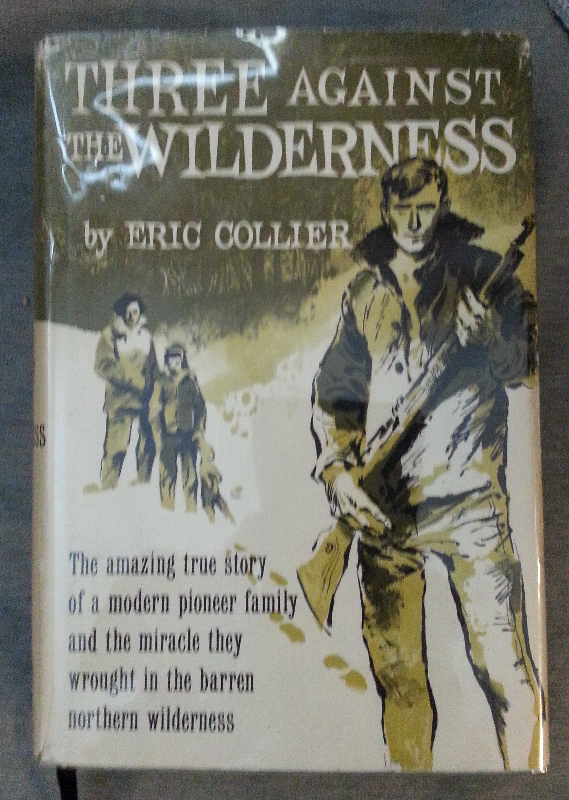 Image for Three Against The Wilderness.