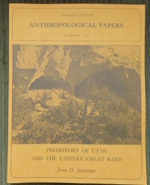 Image for Prehistory of Utah and the Eastern Great Basin