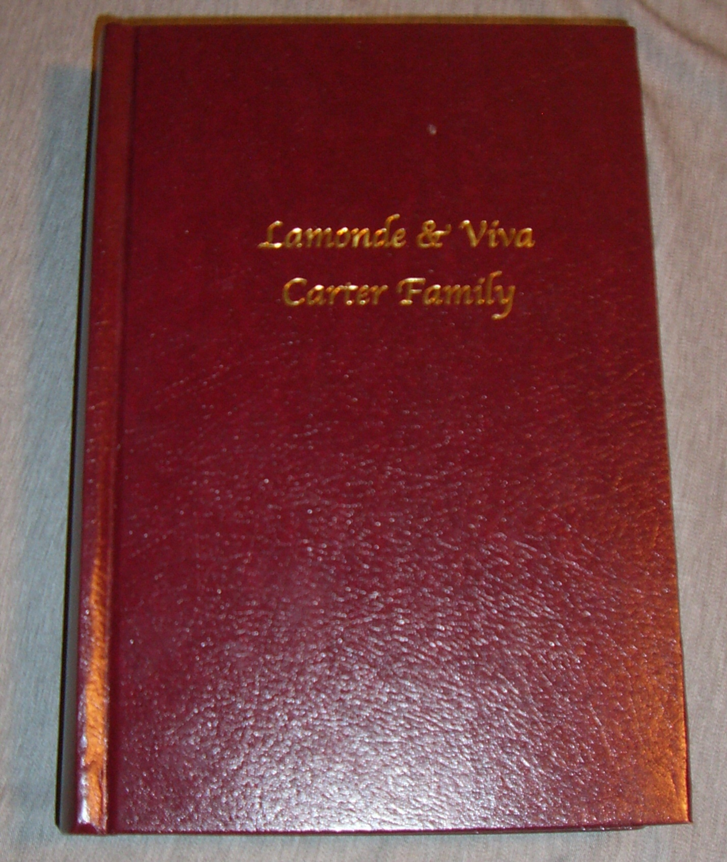 Image for Lamonde & Viva Carter Family