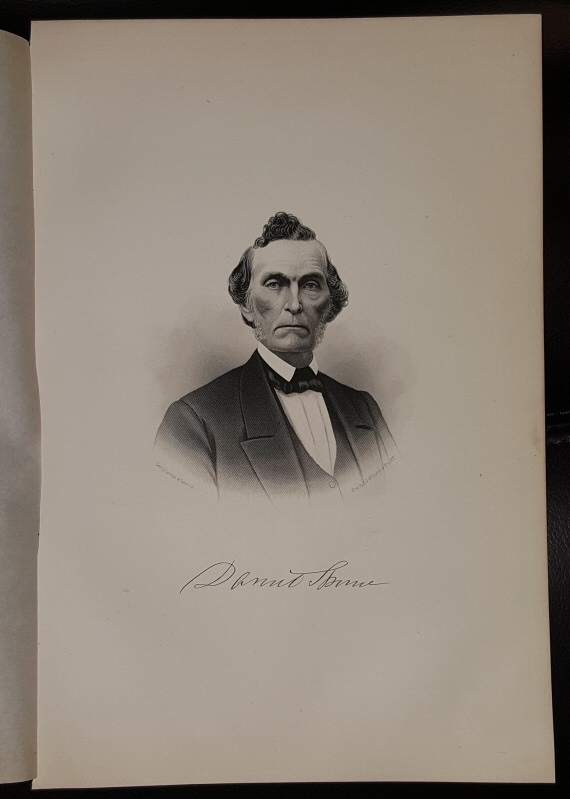 Image for Steel Engraving - Daniel Thorne -  Original MORMON / Utah Pioneer Steel Engraving