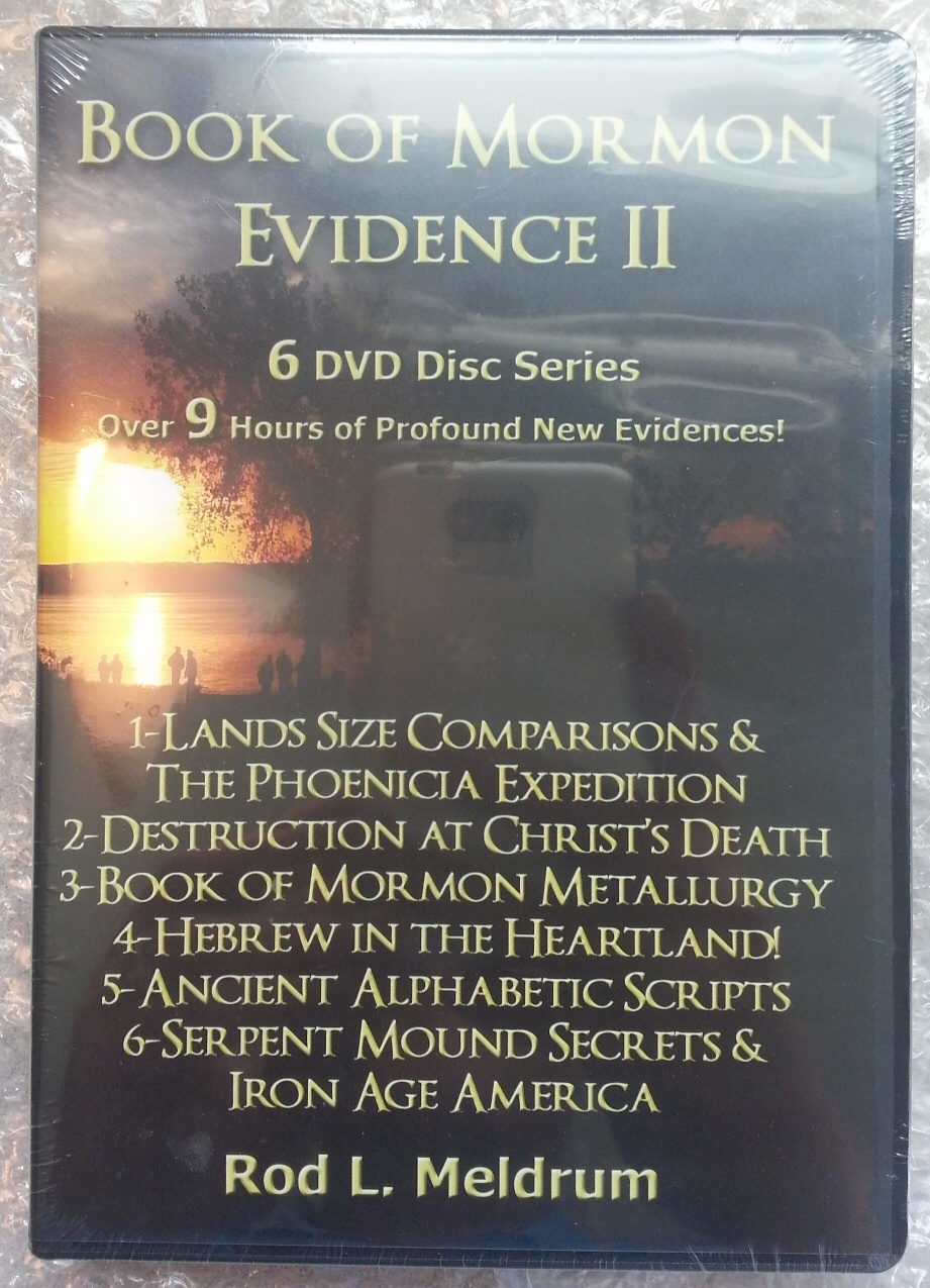 Image for Book of Mormon Evidence Series - Vol 2 -  6 DVD Disk Series