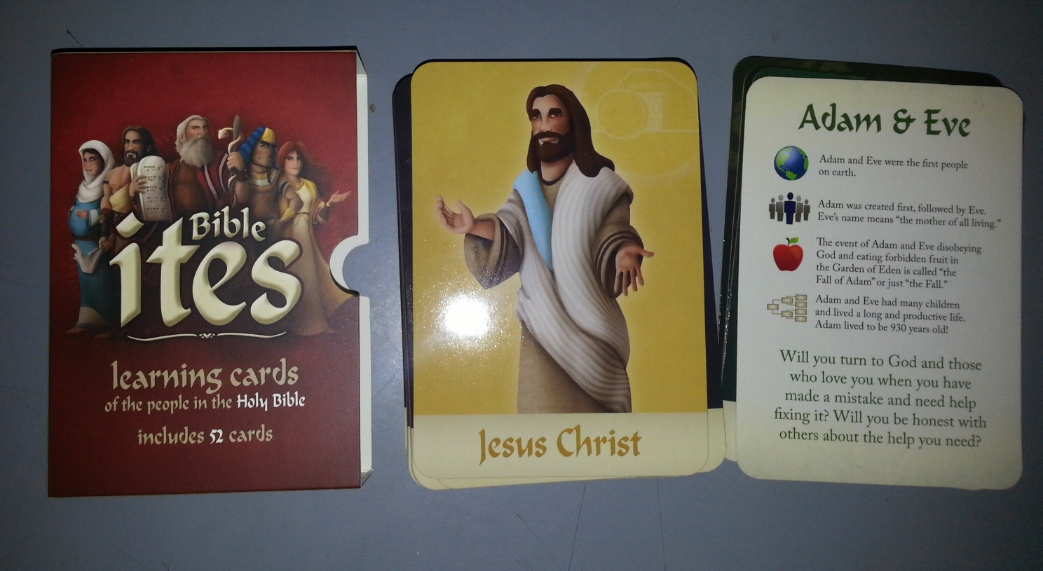 Image for Bible ites;  Learning Cards of the People Of the Holy Bible
