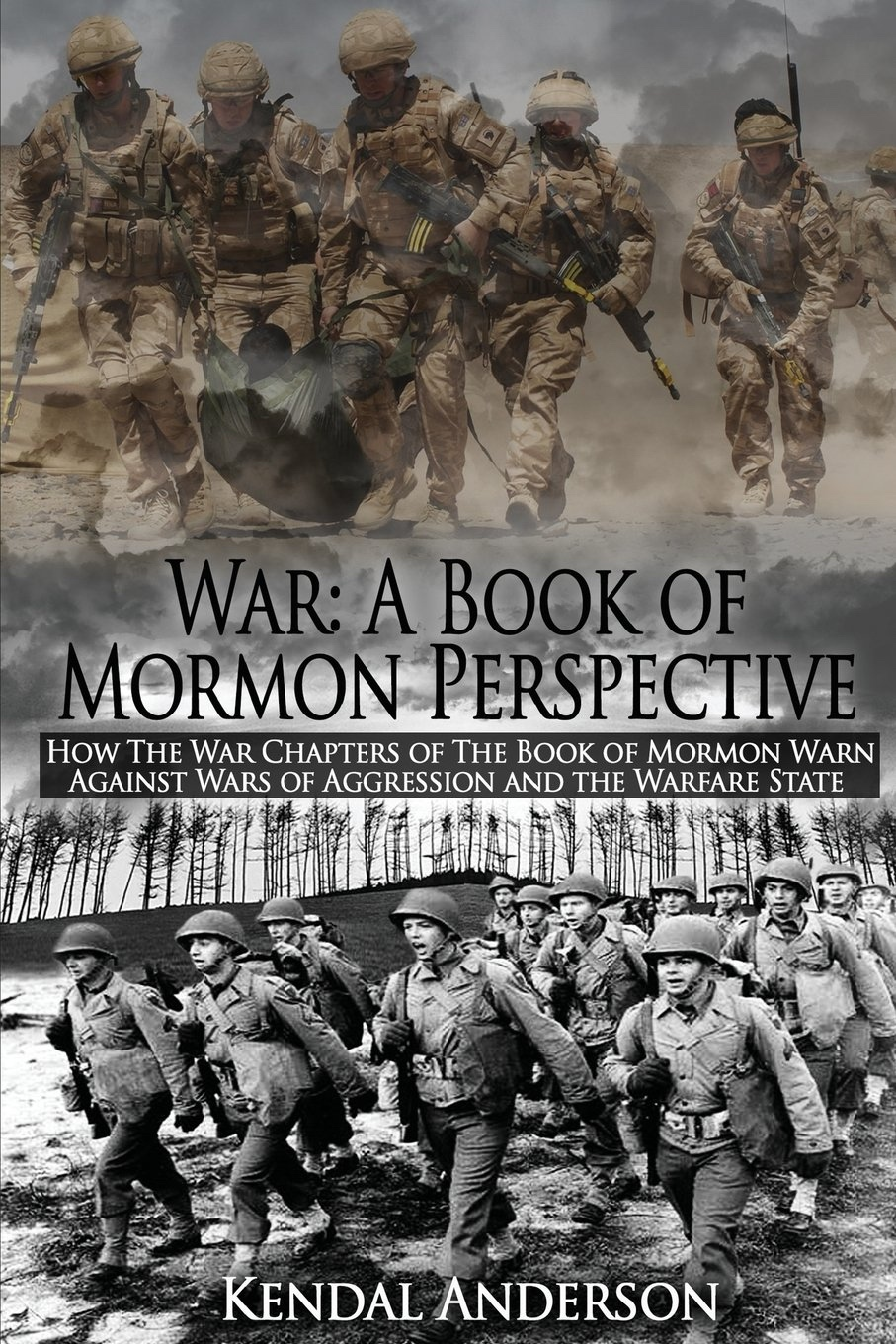 Image for War: A Book of Mormon Perspective: How The War Chapters of the Book of Mormon Warn Against Wars of Aggression and the Warfare State
