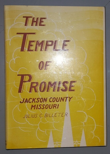 Image for THE TEMPLE OF PROMISE - Jackson County Missouri
