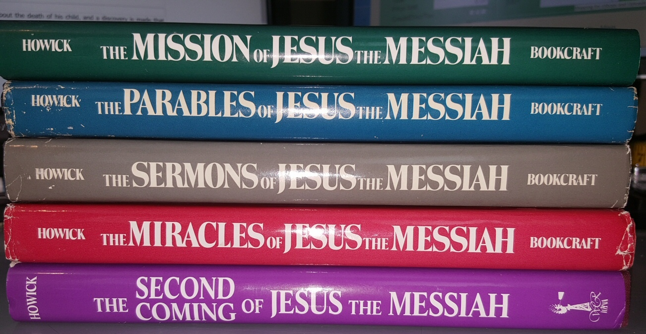 "Image for 5 Vol set ""Jesus the Messiah""; The Mission of Jesus the Messiah; The Sermons of Jesus the Messiah; The Parables of Jesus the Messiah; The Miracles of Jesus the Messiah; The Second Coming of Jesus the Messiah."
