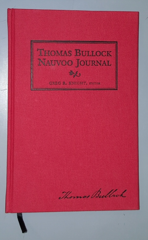 Image for Thomas Bullock Nauvoo Journal [Limited Edition of 500 Copies]
