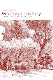 Image for Journal of Mormon History (Winter 2013, Volume 39 No.1)