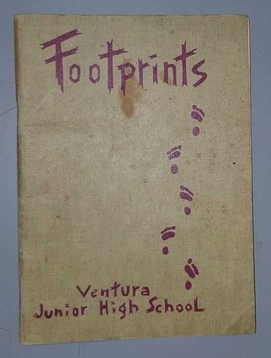 Image for Footprints, 1945 - Ventura [California] Junior High School