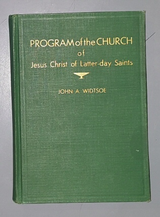 Image for Program of the Church of Jesus Christ of Latter-Day Saints