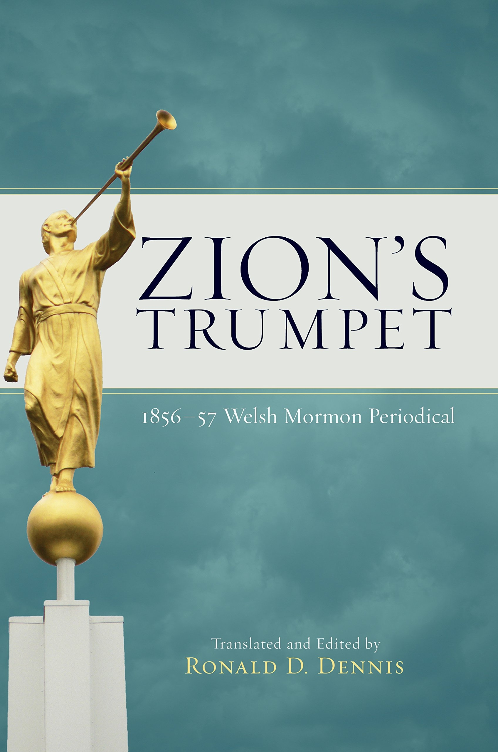 Image for Zion's Trumpet -   1856 and 1857 Welsh Mormon Periodical