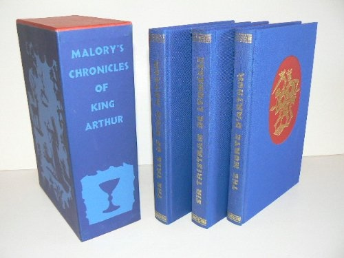 Image for Malory's Chronicles of King Arthur. 3 vol. set