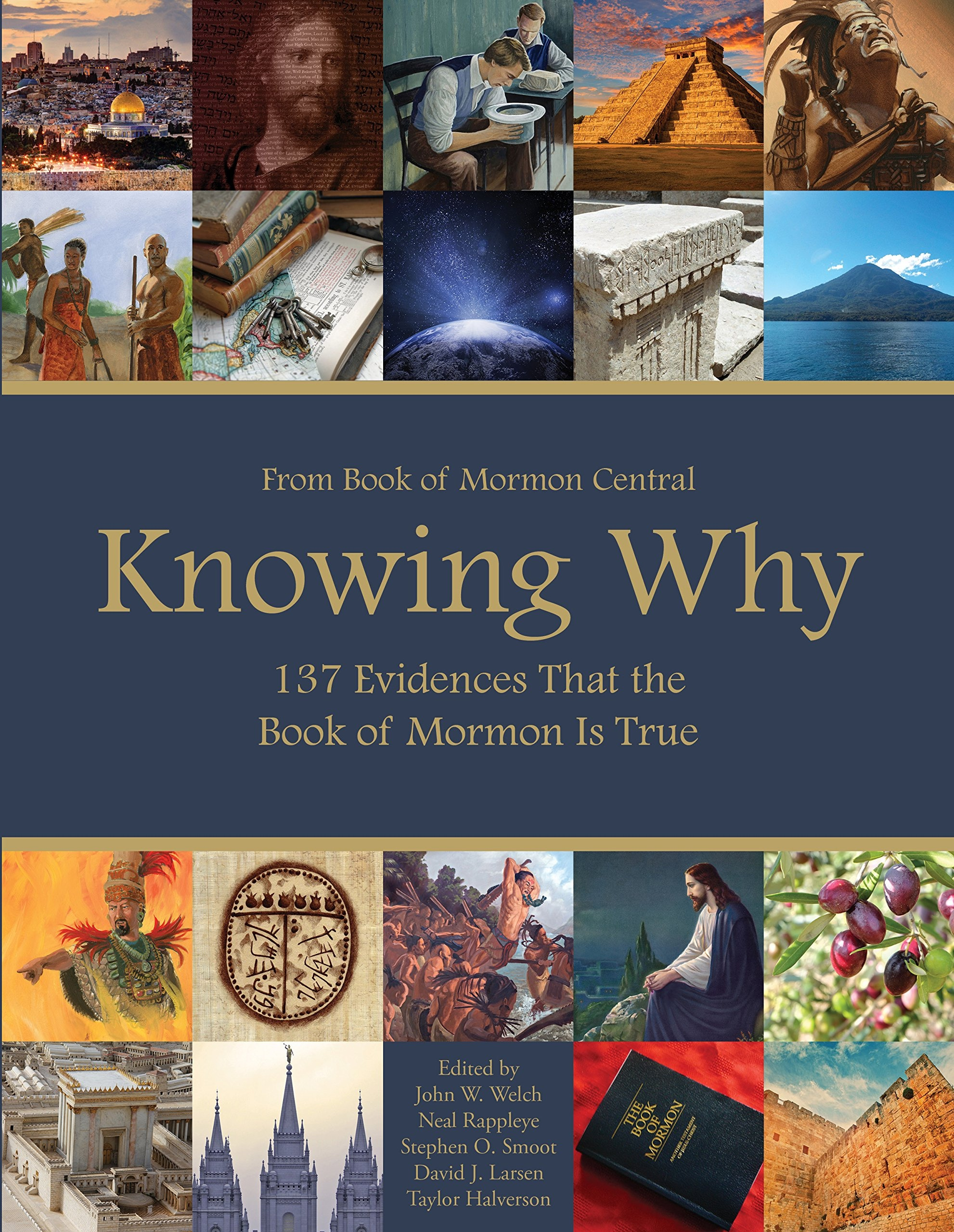 Image for Knowing Why;  137 Evidences that the Book fo Mormon is true