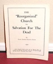 "Image for The ""Reorganized"" Church Vs. Salvation for the Dead"