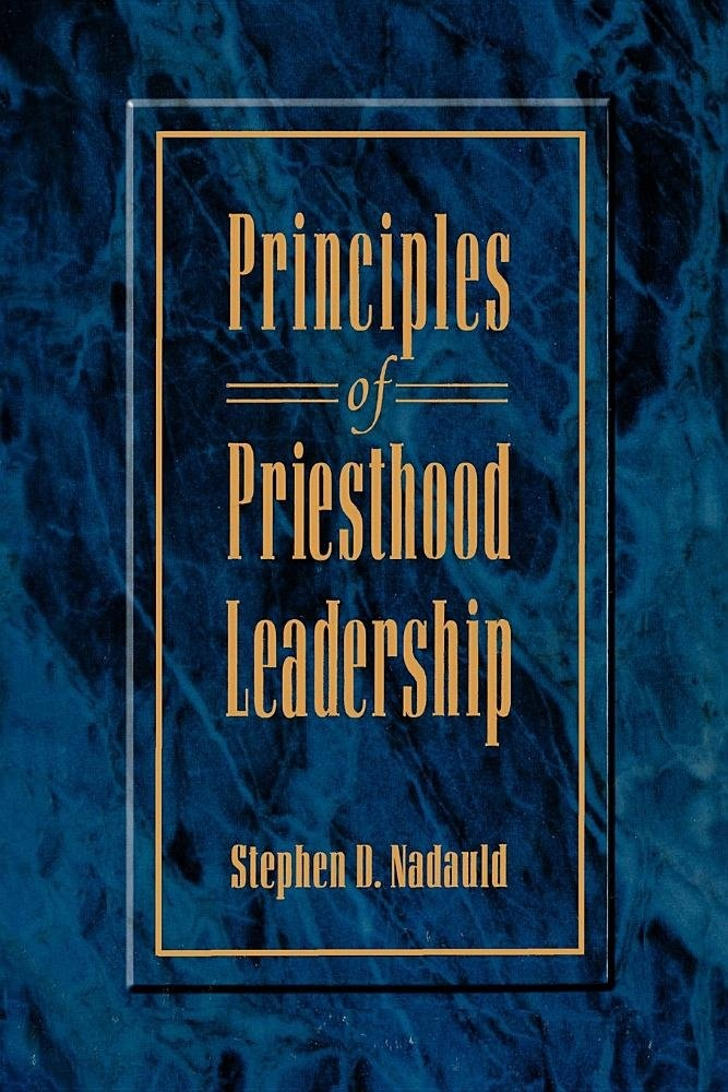 Image for Principles of Priesthood Leadership