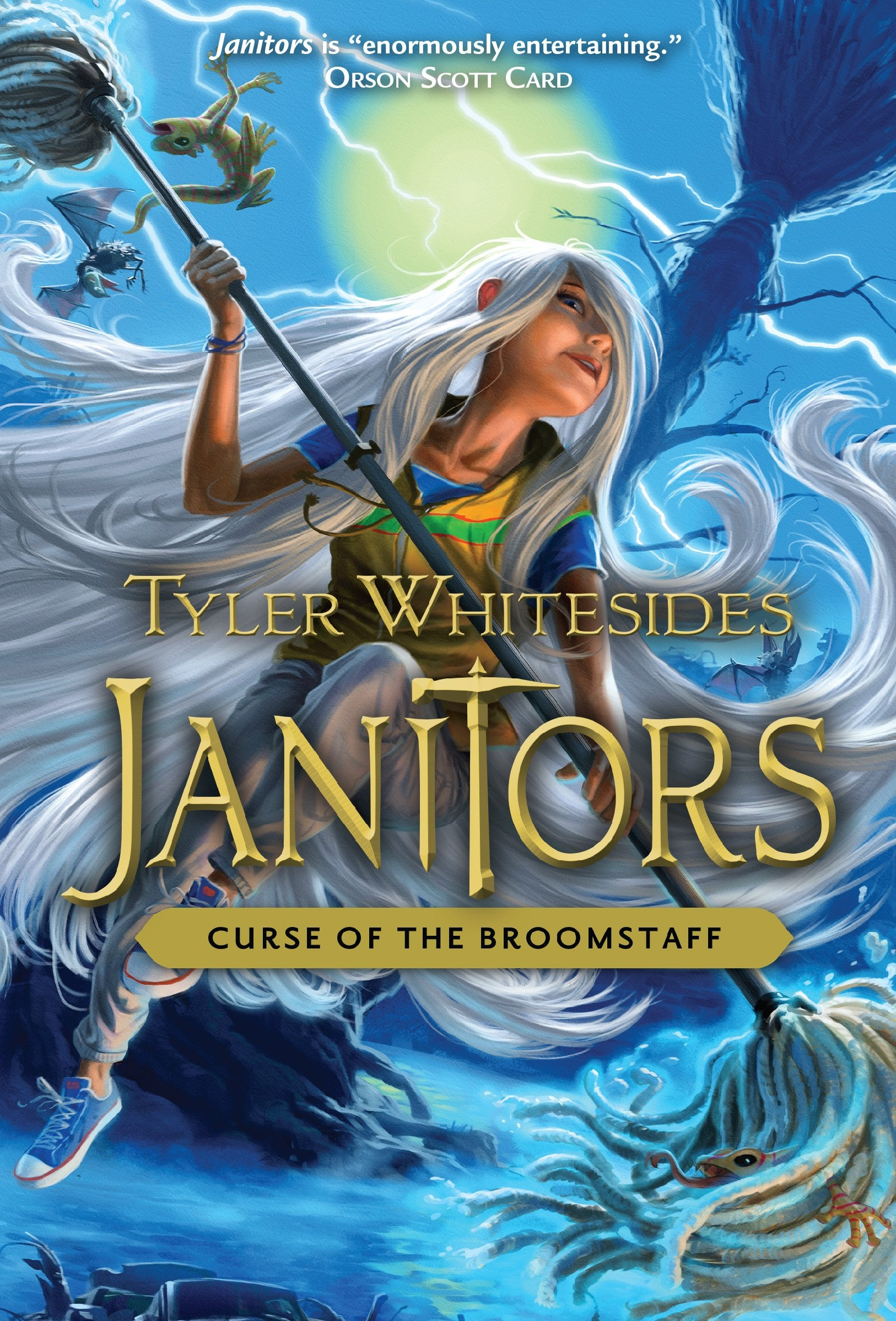 Image for Janitors, Book 3  Curse of the Broomstaff