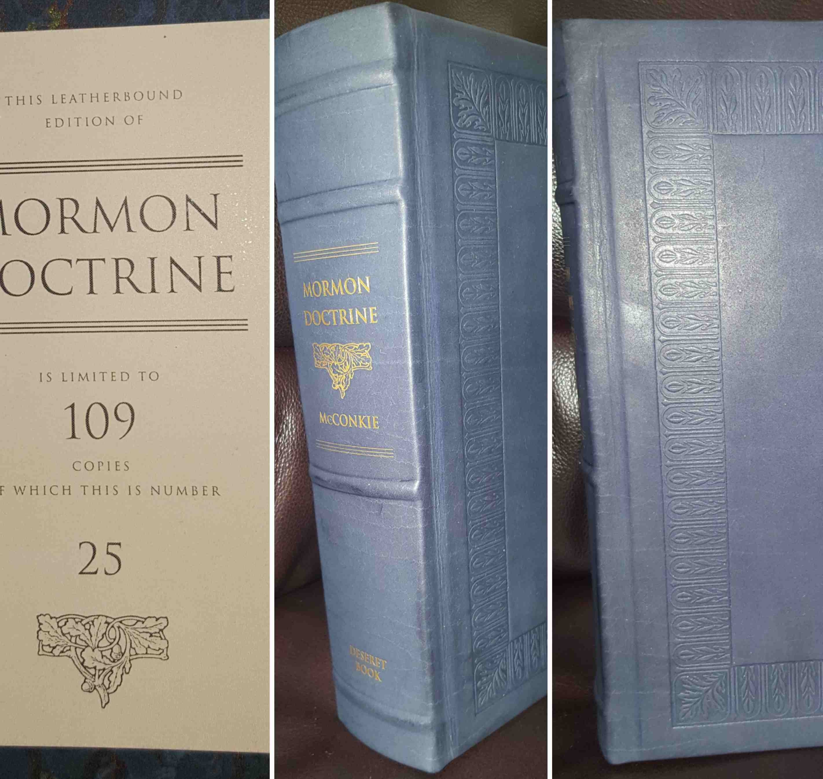 Image for Mormon Doctrine Limited Edition Leather - Only 109 Sets Produced