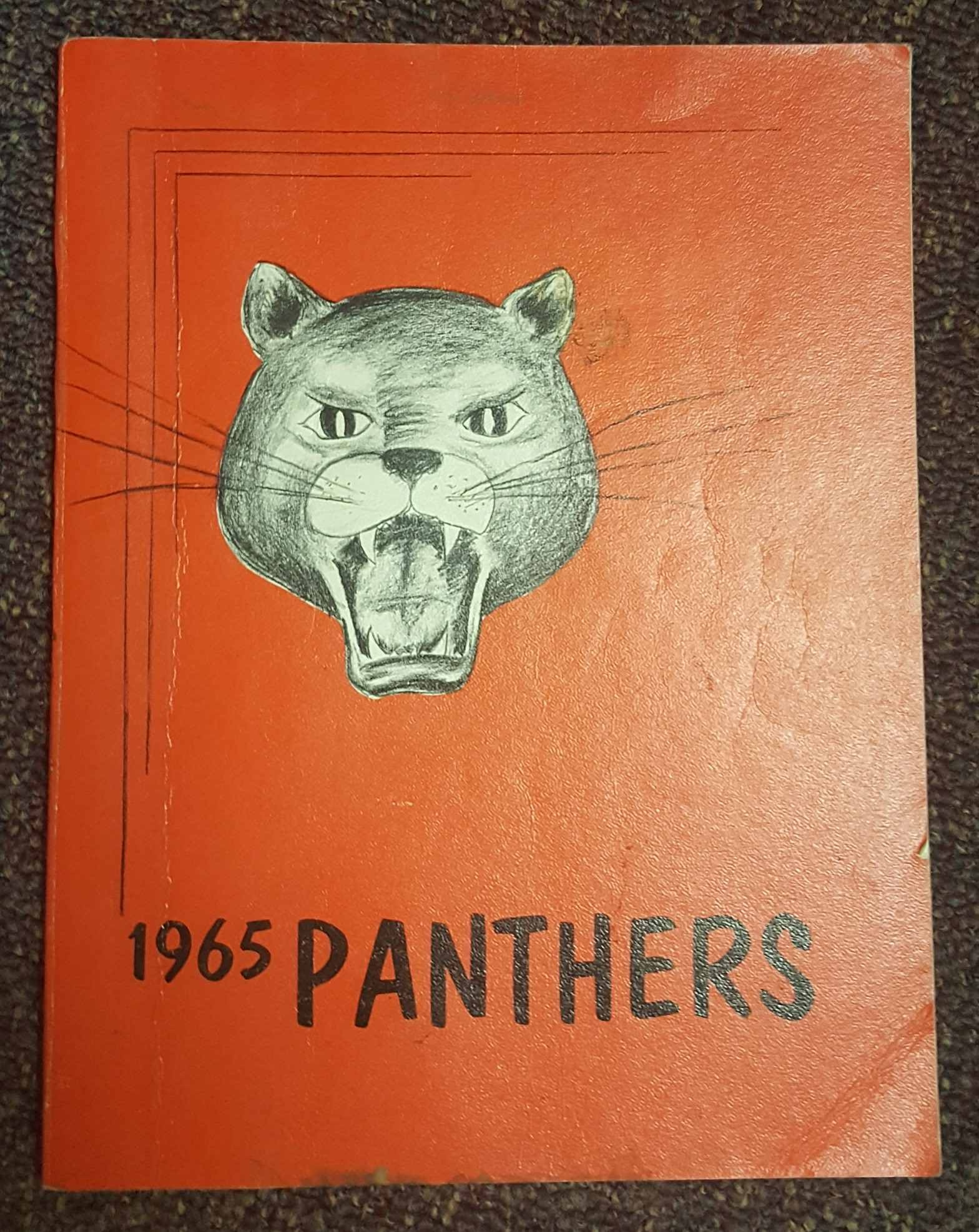 Image for Panthers 1965 - Lincoln Junior High School Yearbook (Orem, UT)
